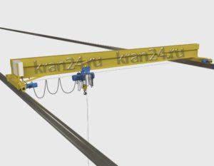 Кран мостовой однобалочный