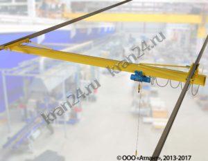 Кран балки электрические подвесные