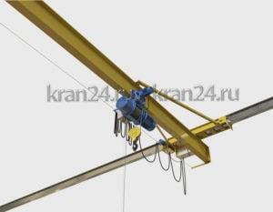 Кран мостовой подвесной однобалковый